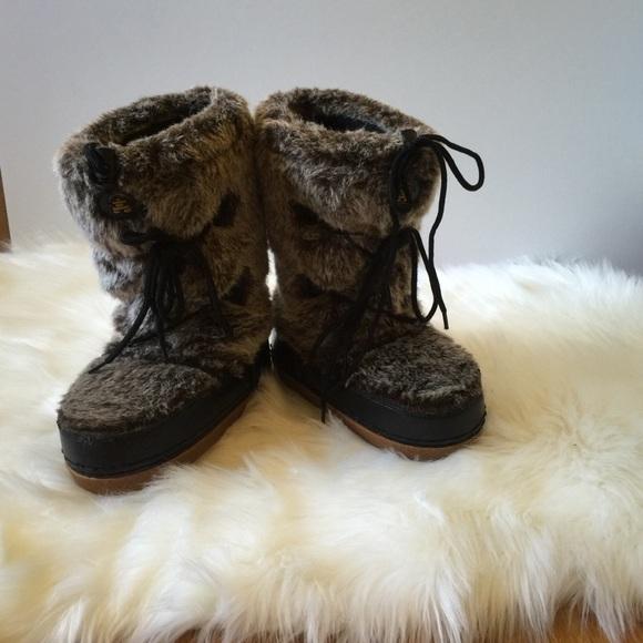 Kamik Shoes   Kamik Faux Fur Snow Boots